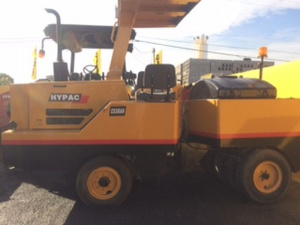 Виброкаток Hypac C530AH 9 wheel traffic roller
